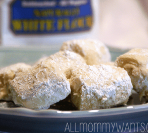 Recipe: Organic Whole Wheat Cream Cheese Bon-bons