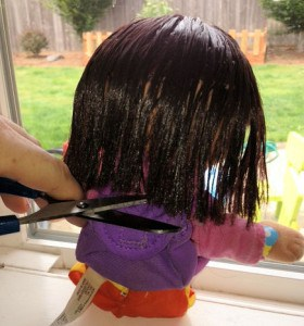 How To Fix Your Doll's Crazy Hair! A Step By Step Tutorial