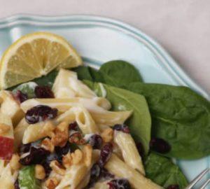 Recipe Corner: Fruit Pasta Salad (inspired By Waldorf Salad)
