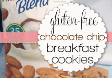 Cooking With Almond Milk – Gluten-free Chocolate Chip Breakfast Cookies (recipe)