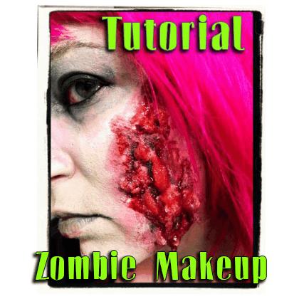 Halloween How-to – Zombie Makeup!