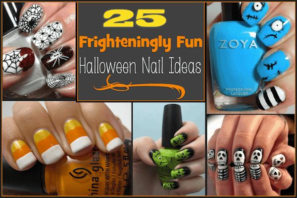 Roundup: 25 Frighteningly Fun Halloween Nail Ideas