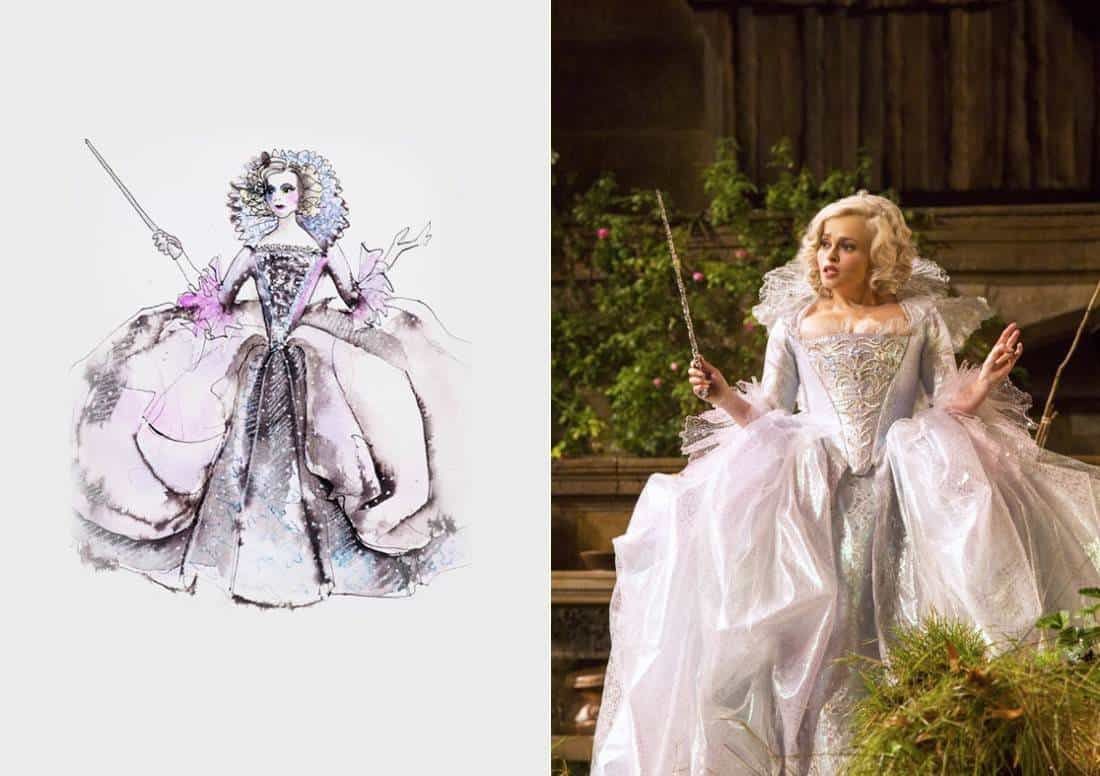 Oscar Winning Costume Designer Sandy Powell Talks About Dressing Cinderella