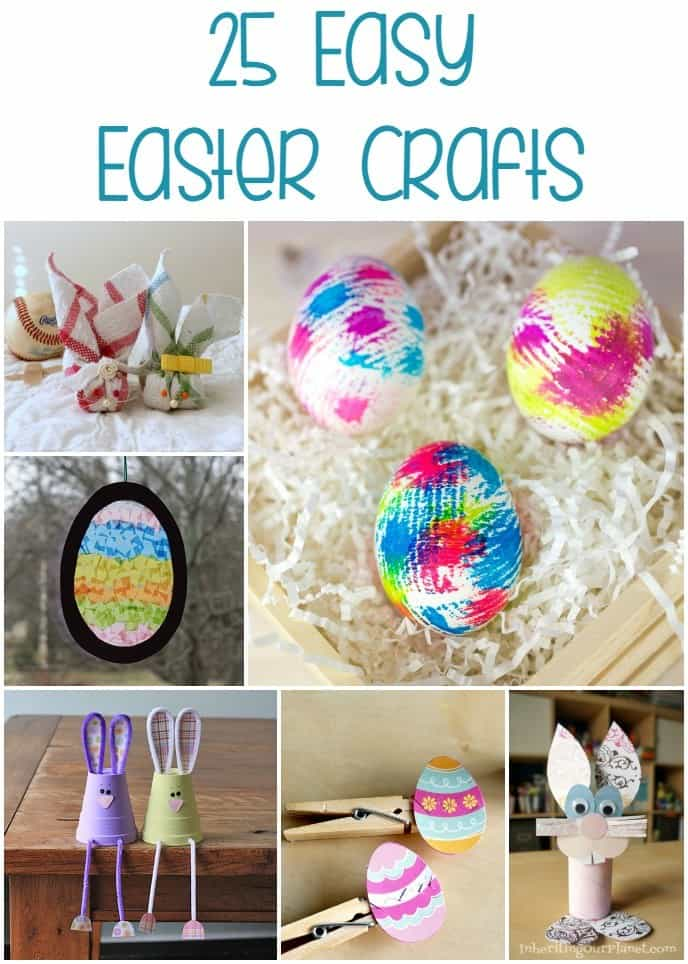 Roundup: 25 Easy Easter Crafts For You To Try