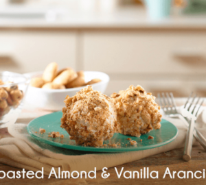 Dessert Recipe: Toasted Almond & Vanilla Arancini