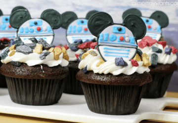 Recipe: Mickey Mouse Star Wars R2d2 Cupcakes With Printable Templates