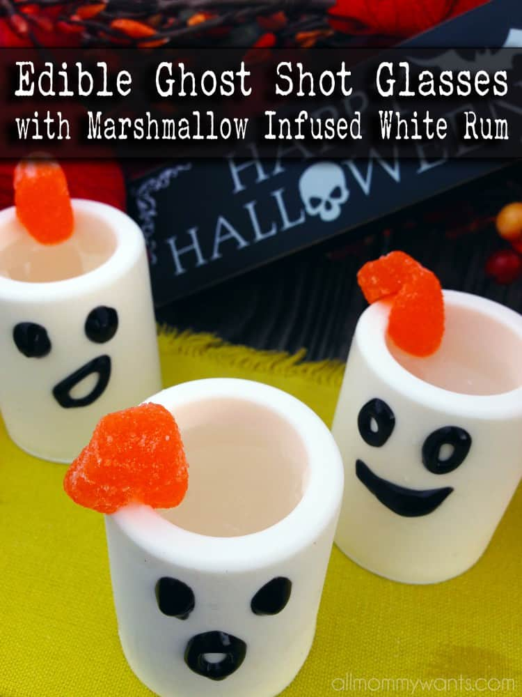 Recipe: Edible Shot Glasses With Marshmallow Infused White Rum