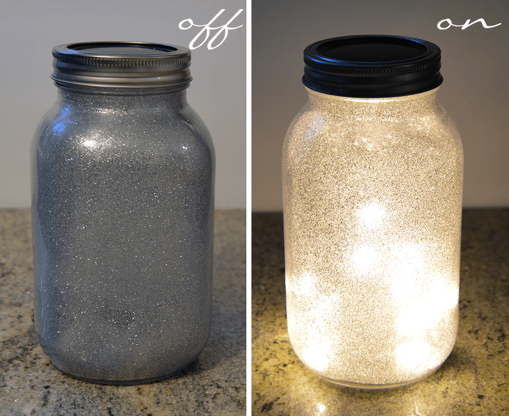 GlitterLight Off On