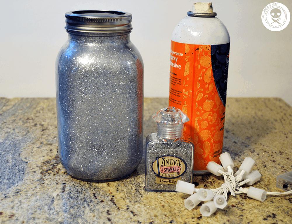 Diy: Glitter Fairy Mason Jar Nightlight (video)