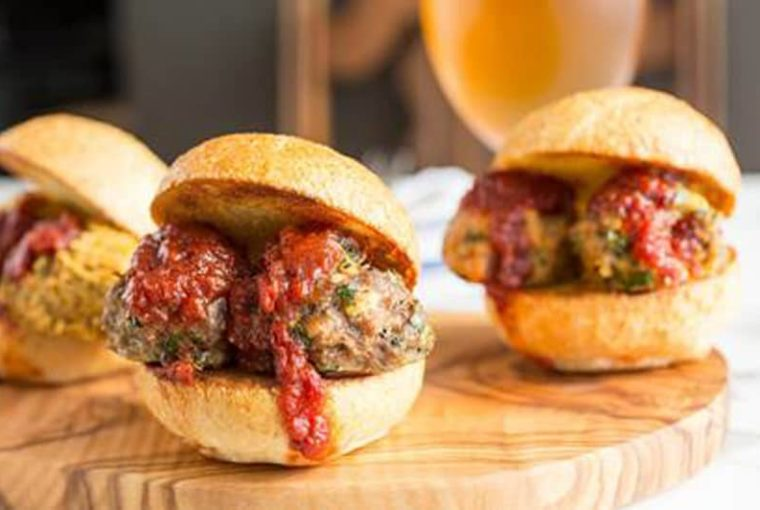 Recipe: Mediterranean Meatball Sliders Three Ways – Chicken, Lamb, Or Chickpea (vegetarian)