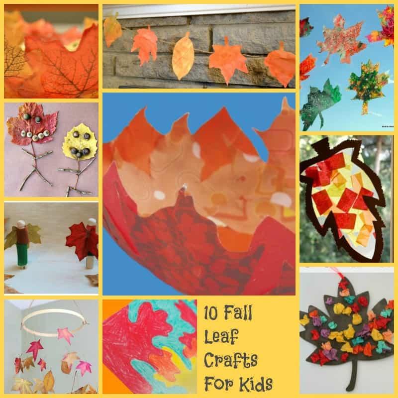 10 Super Cool Fall Leaf Crafts For Kids