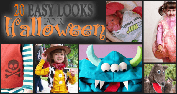 20 Easy Halloween Costume Ideas #halloweencostumes