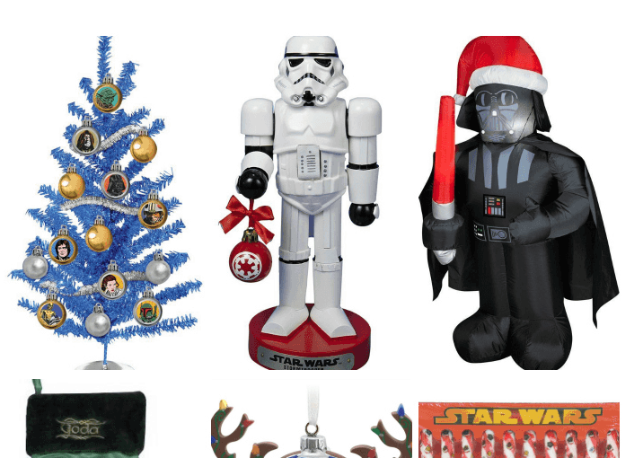 40 Star Wars Christmas Gifts And Decorations!