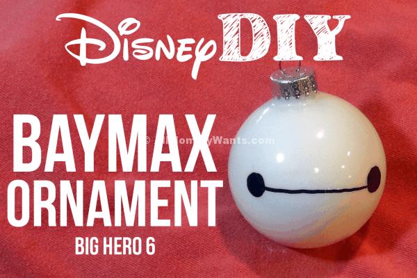 Diy – Big Hero 6 Baymax Christmas Ornaments! #bighero6