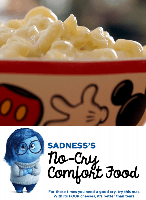 Inside Out-inspired Recipe: Comfort Food Mac & Cheese #insideoutevent