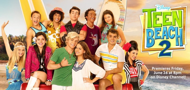 Lights, Camera, Dance! How The Dance Moves In Teen Beach 2 Transcend The Ages (premieres 6/23) #teenbeachmovie2