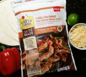 New Foster Farms Sauté Ready Chicken – From Freezer To Table In 10 Minutes!