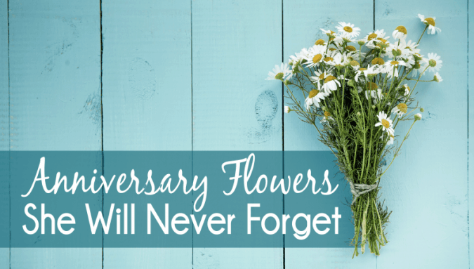 Out Of The Box Anniversary Flower Ideas