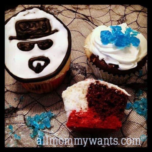 Recipe Corner – Breaking Bad Heisenberg Cupcakes
