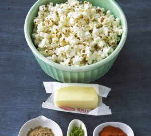 Recipe: Popcorn With Savory Butters: Parmesan, Spiced Lime, Or Curry Butter @darigold