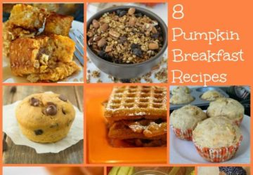 Recipe Roundup: 8 Pumpkin Breakfast Recipes!