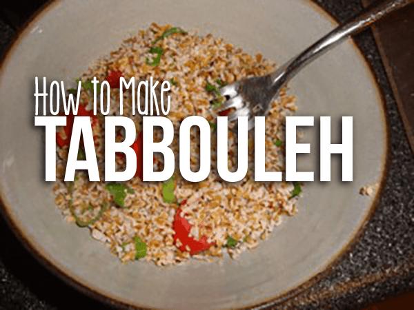 Recipe: Tabbouleh