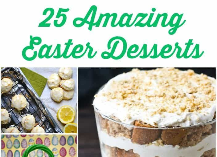 Roundup: 25 Amazing Desserts To Try This Easter (or Anytime)