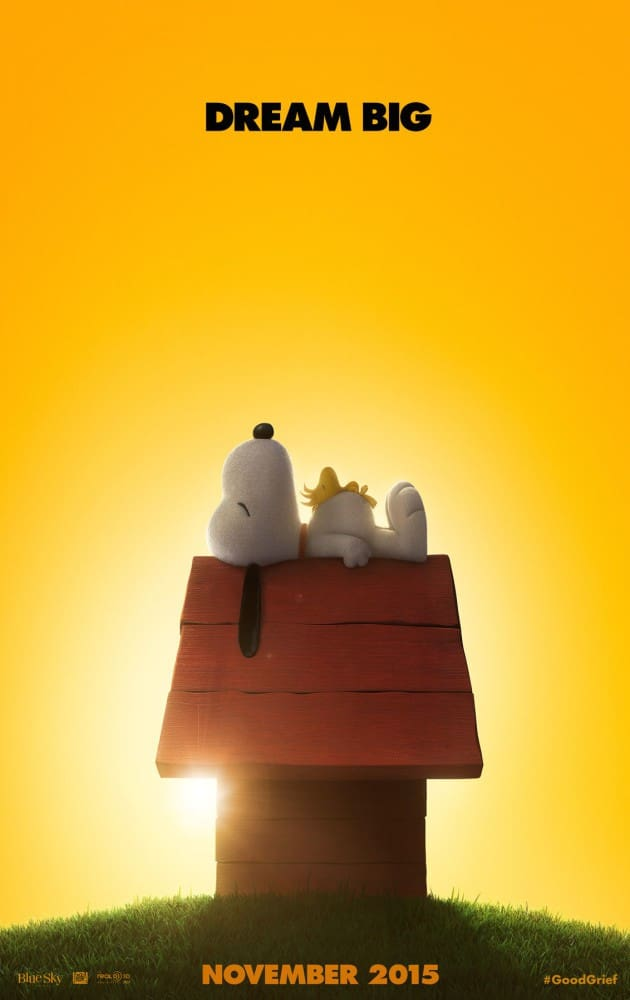 Top 5 Reasons To Adore Snoopy! The Peanuts Movie In Theaters Nov 6