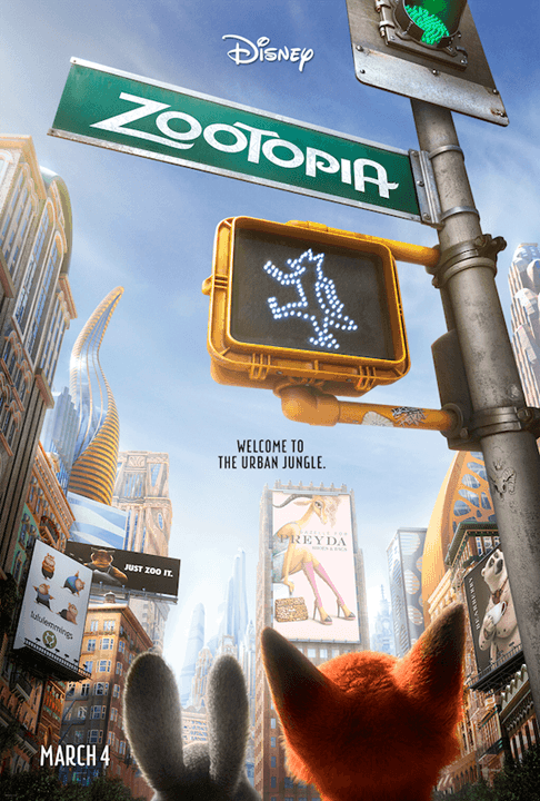 Zootopia – See The Trailer! In Theaters March 6, 2016