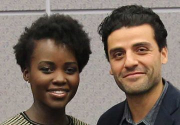 "Seeing Star Wars: The Force Awakens Was A ""trippy Moment"" For Oscar Isaac And Lupita Nyong'o (interview)"