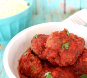 Recipe: Slow Cooker Italian Meatballs (7 Weight Watcher Points)