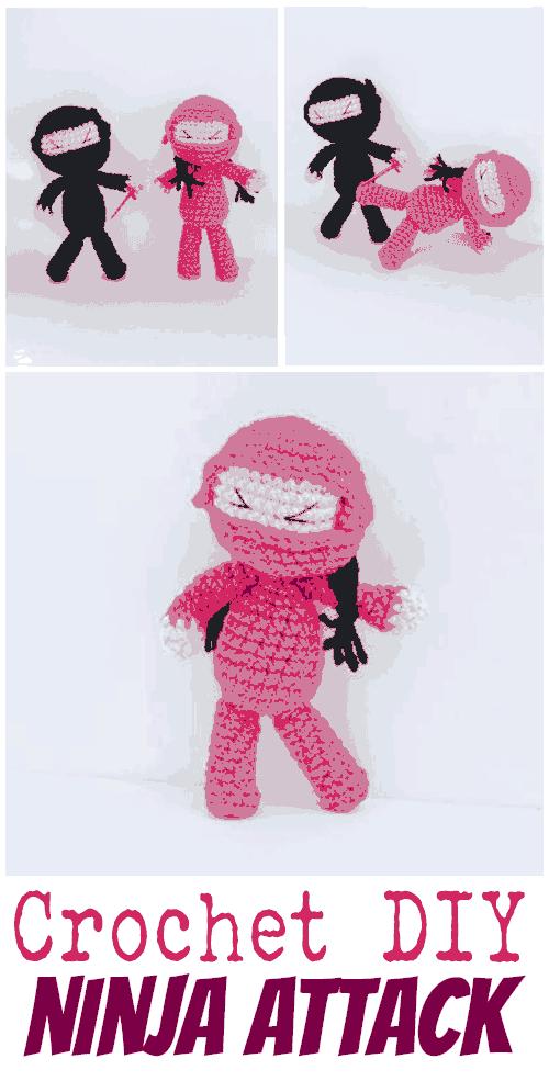 Diy: Crochet These Adorable Little Ninjas (free Pattern)