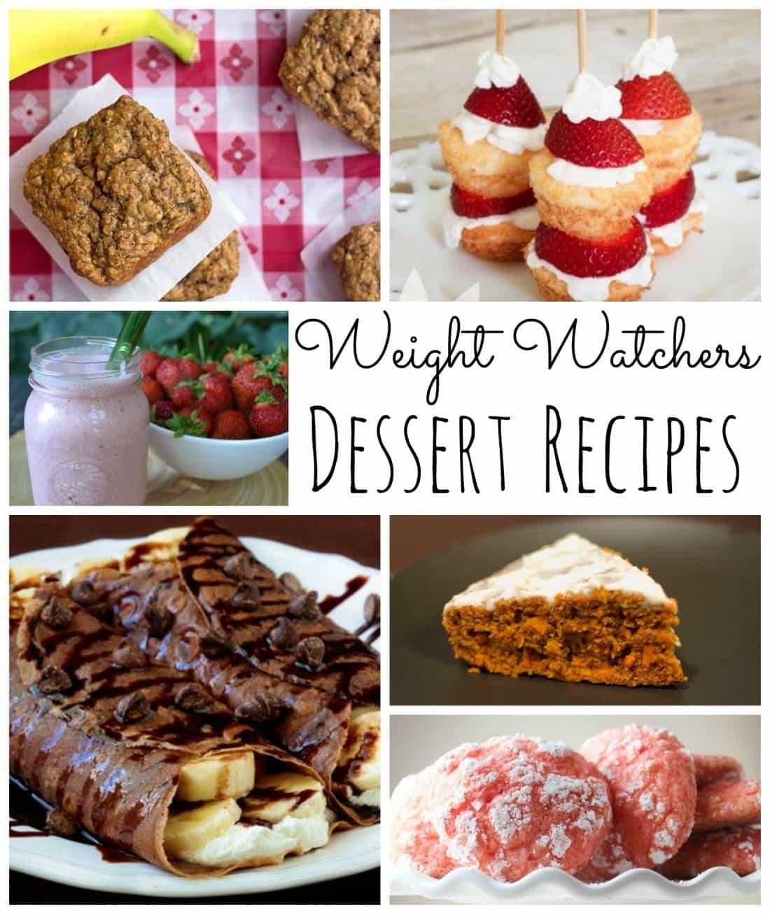 The Best Weight Watcher Dessert Recipes