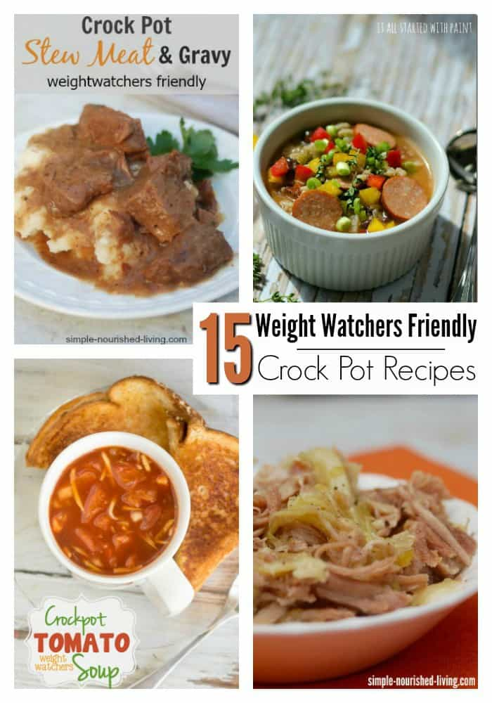 15 Easy Crock Pot/slow Cooker Meals That Are Weight Watchers Friendly