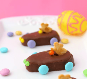 Easy To Make Chocolate Easter Bunny Racers