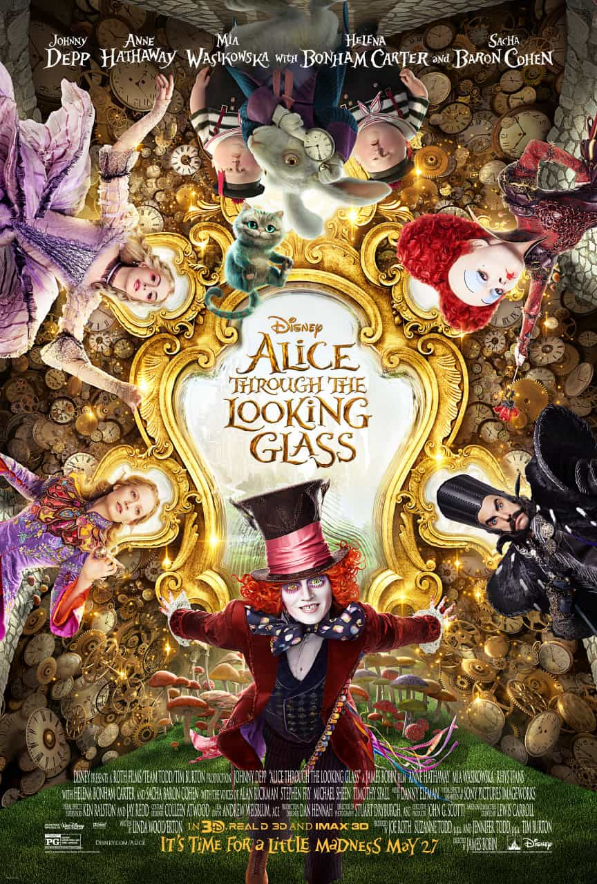 "P!nk Sings ""white Rabbit"" And It's Awesome In Alice Through The Looking Glass!"