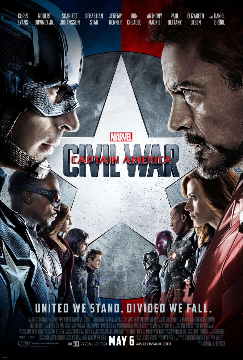 First Look – New Trailer For Disney/marvel's Captain America: Civil War (in Theaters May 6)