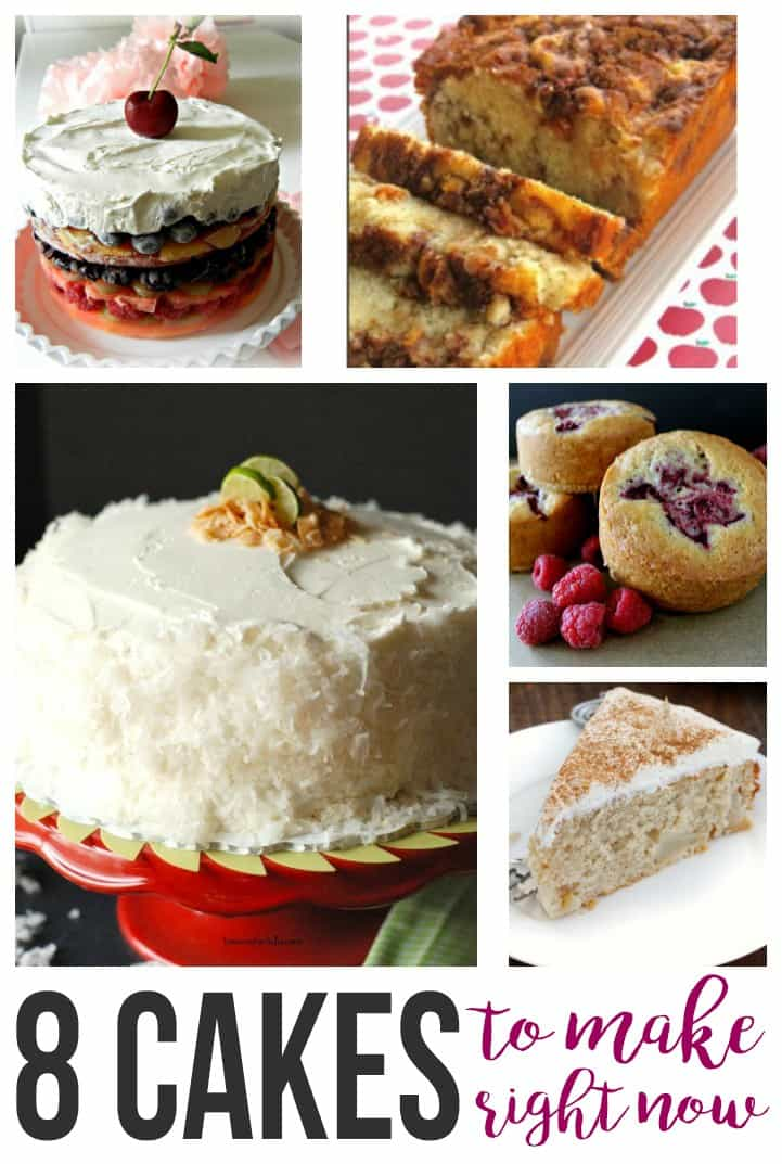 8 Cakes To Make Right Now
