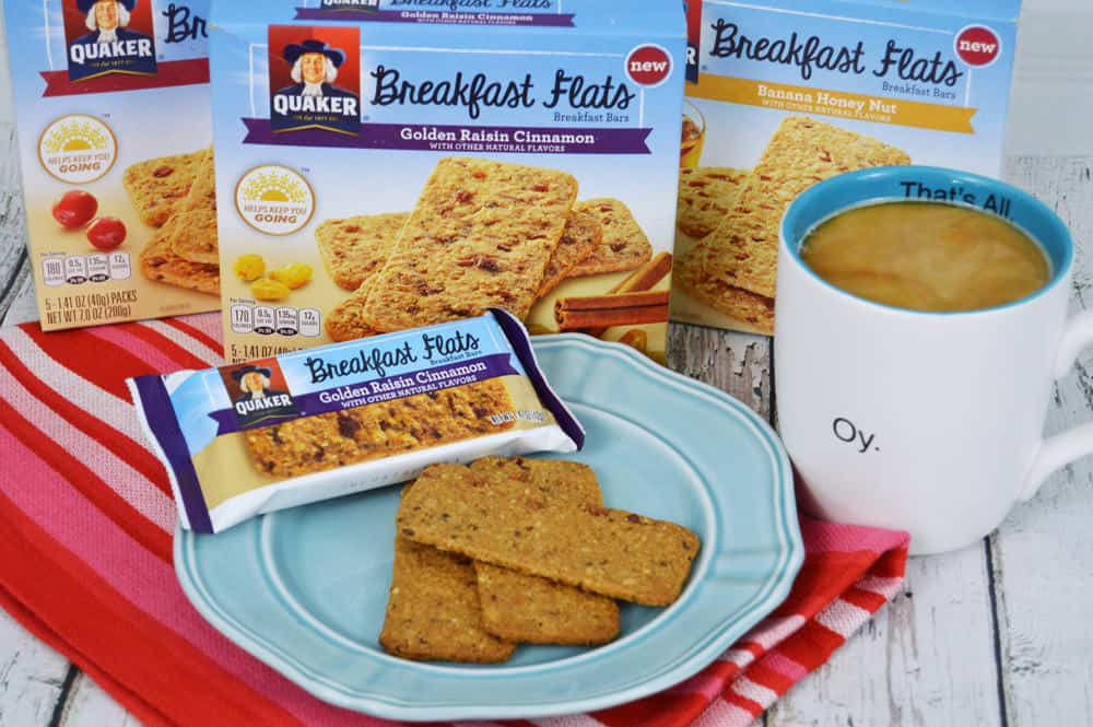 Taste Test: Quaker Breakfast Flats – Breakfast On The Go