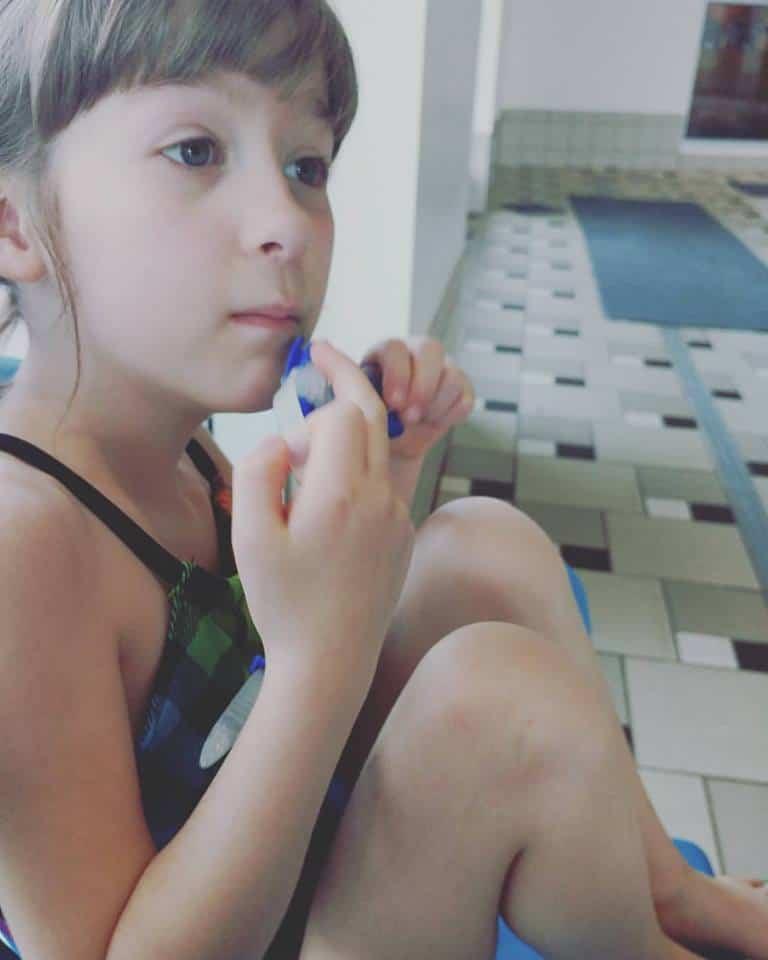 My Kids Are Learning To Swim At Safesplash