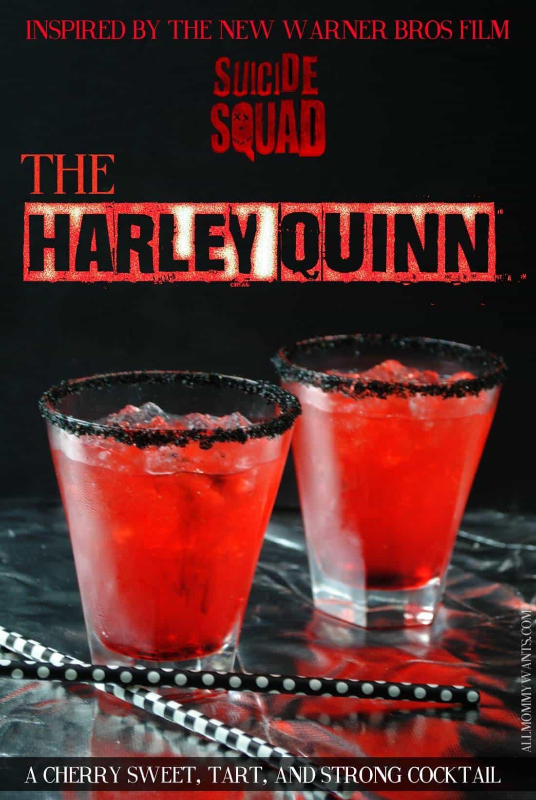 Harley Quinn Edible Cookie Dough