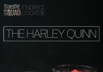 Suicide Squad Inspired Cocktail – The Harley Quinn