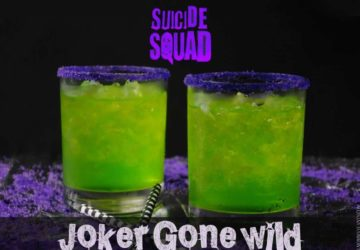 Suicide Squad Inspired Cocktail – The Joker Gone Wild