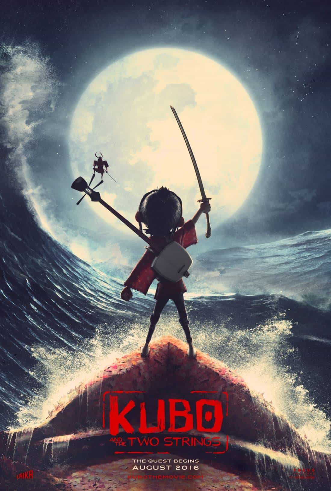 New – Kubo And The Two Strings Interactive Map