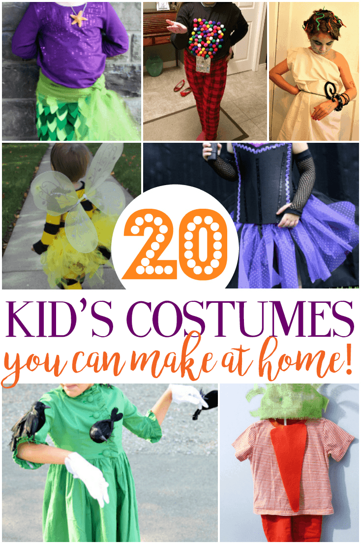 20 Diy Halloween Costume Ideas For Kids