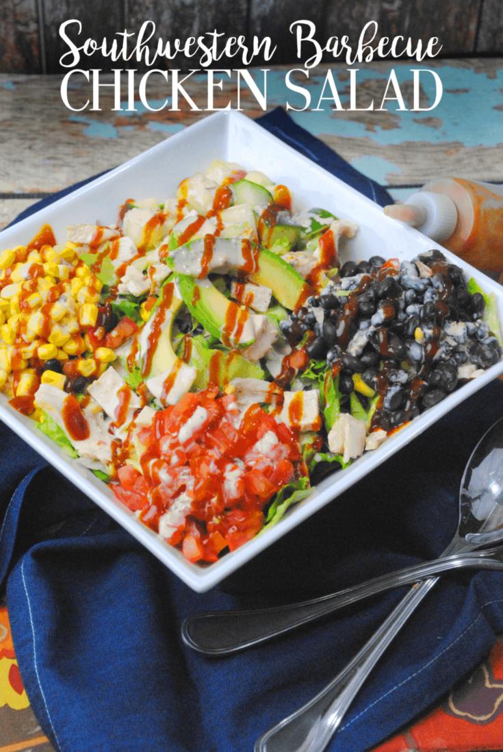 Recipe – Southwestern Barbecue Chicken Salad