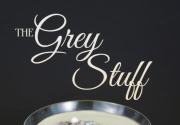 'the Grey Stuff' Dessert Cocktail Inspired By Beauty And The Beast