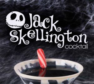 The Jack Skellington Cocktail (nightmare Before Christmas)