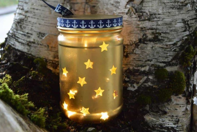 Diy – Stars In The Sky Lantern! Perfection For Weddings & Holidays!