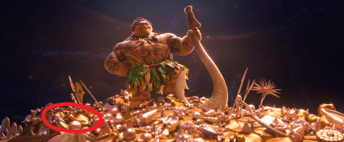 Look For These Easter Eggs In Disney's Moana!